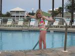 Hannah at the pool in Destin FL 03182012b