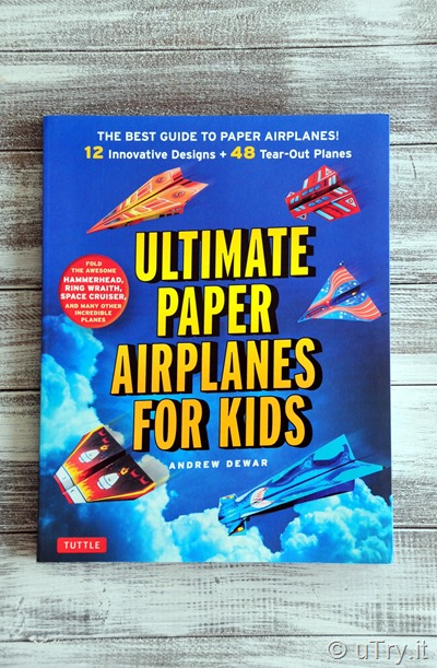 Ultimate Paper Airplanes for Kids Review and Worldwide Giveaway