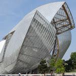 Paris : fondation Louis Vuitton