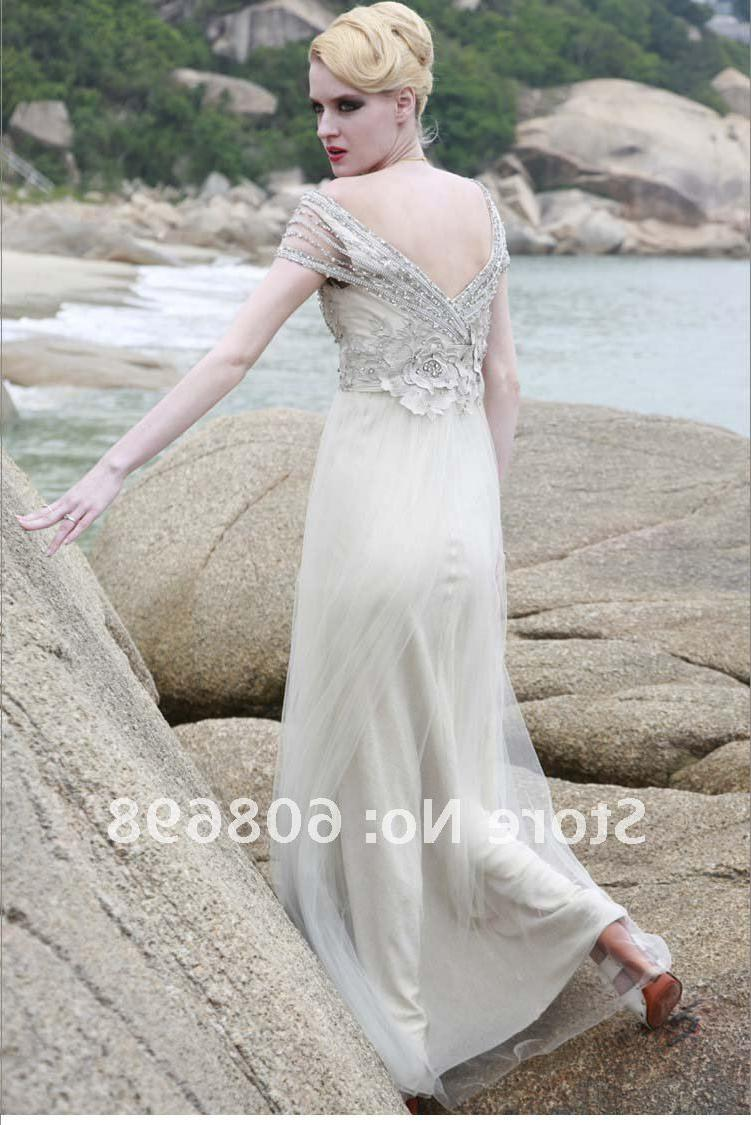 backless plunge wedding