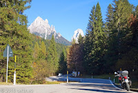 Passo di Cereda (1369m), Westrampe.