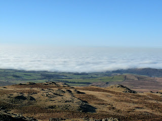 The Sea Mist and Fog is certainly approaching across the land now!!