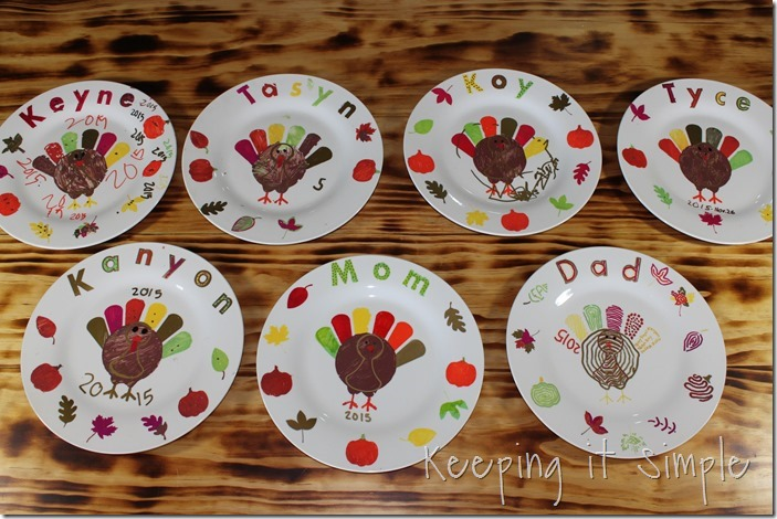 DIY-Thanksgiving-Dinner-Plates Kids Craft (13)