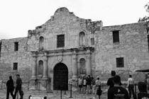The iconic Alamo of San Antonio