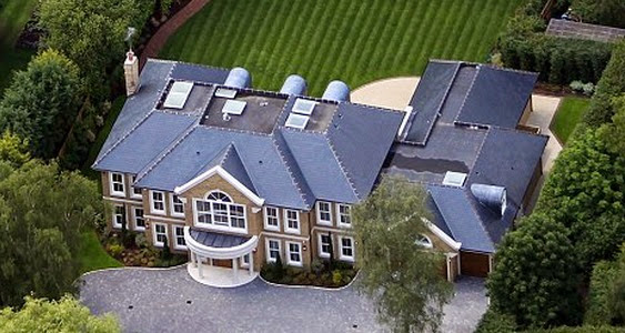 Andy Murray house in Surrey, UK
