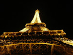 The Eiffel Tower, as seen by night