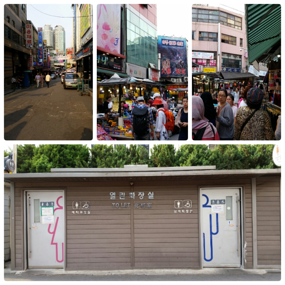 how to go to namdaemun market from myeongdong station
