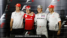 4 world champions of the 2012 F1 GP season