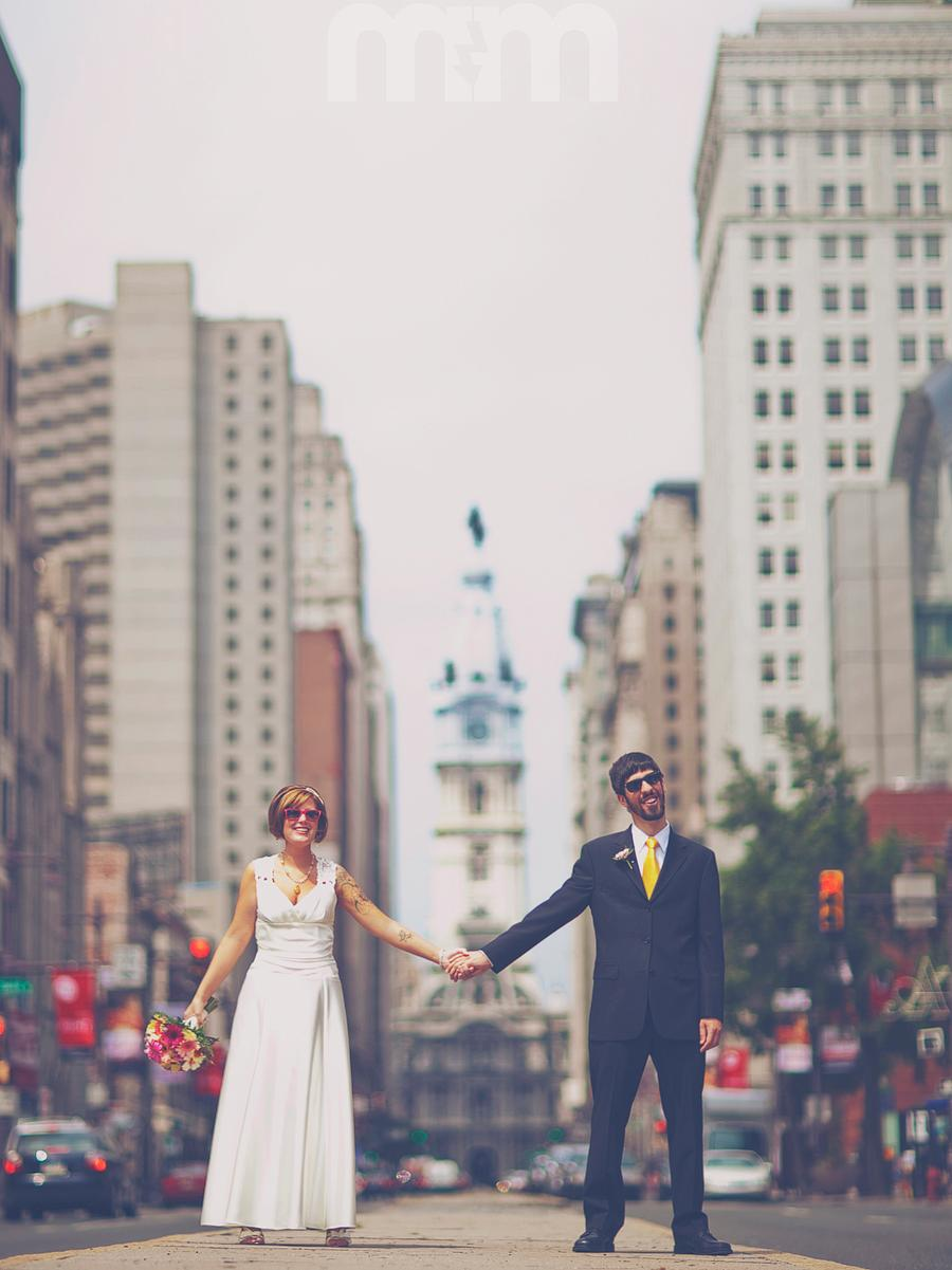 awesome philly wedding.