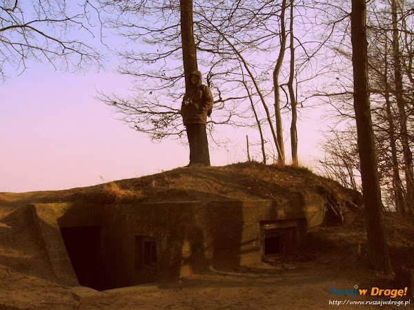bunkier na gdyńskim klifie