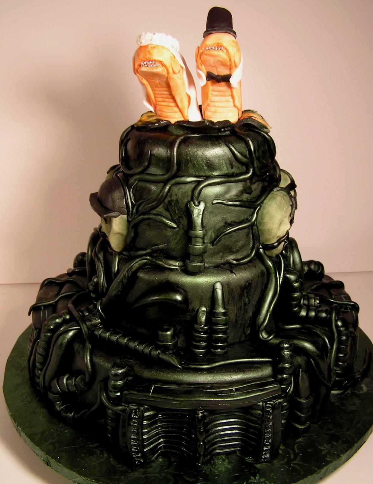 least is the Alien cake.