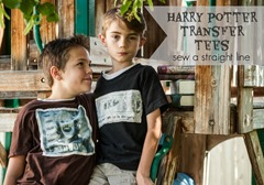 a happy harry potter tee shirts sew a straight line