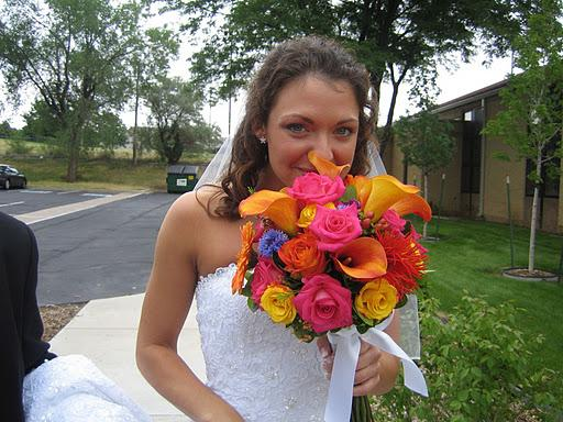 Summer Colors Wedding Flowers