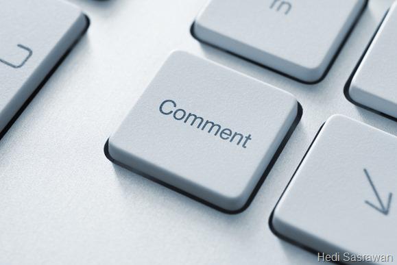 Supaya blog ramai komentar