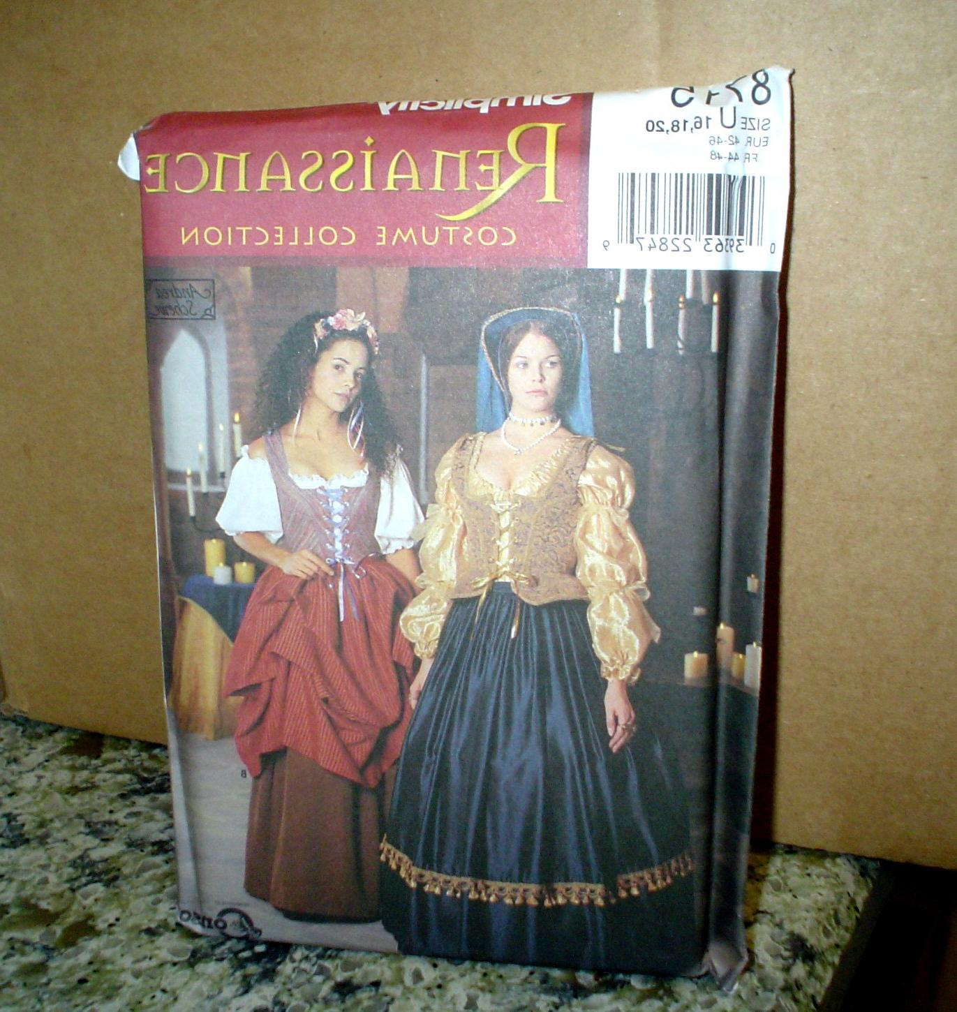 Costume DRESS PATTERN 16