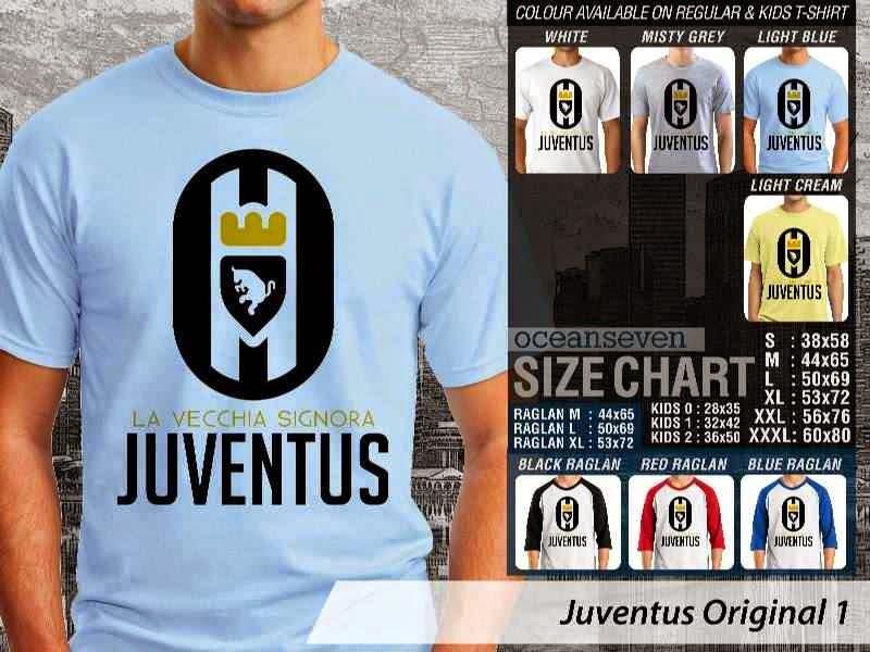 Kaos Bola Juventus 24 Logo Klub Bola distro