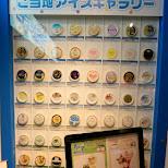 giant list of weird wacky Japanese ice cream in Ikebukuro, Tokyo, Japan