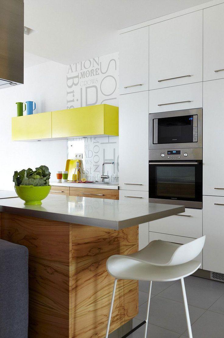 Cozinha Planejada Pequena Amarela Cozinha Pequena Branca Com