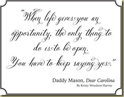 Daddy Masons quote