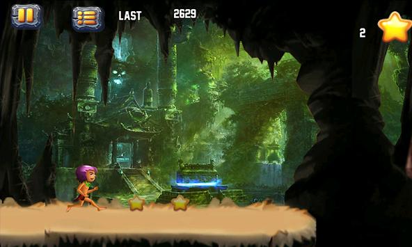 Jungle Tarzan Run apk screenshot