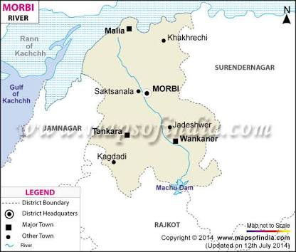 MORBI DISTRICT MAPS DOWNLOAD - Morvi map