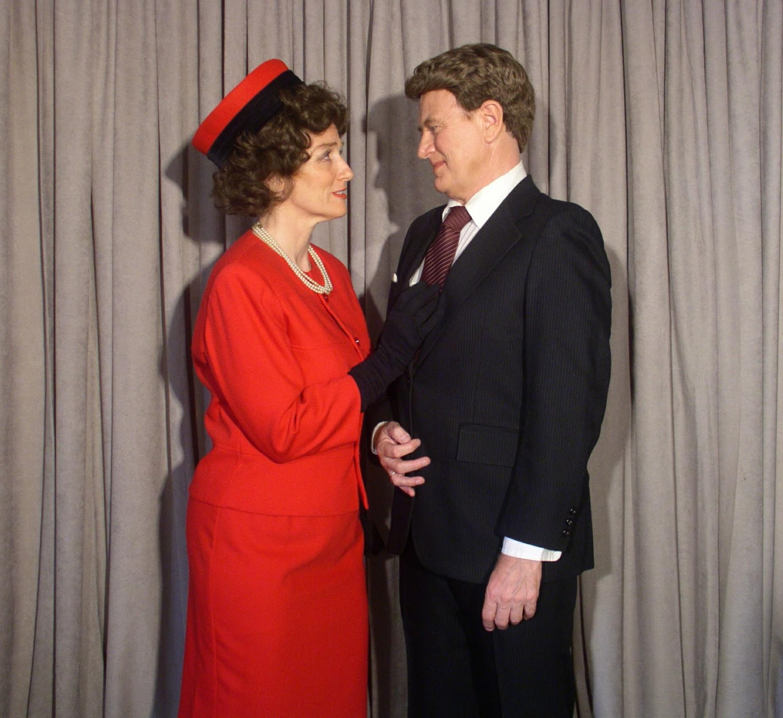 Jack and Jackie Kennedy,