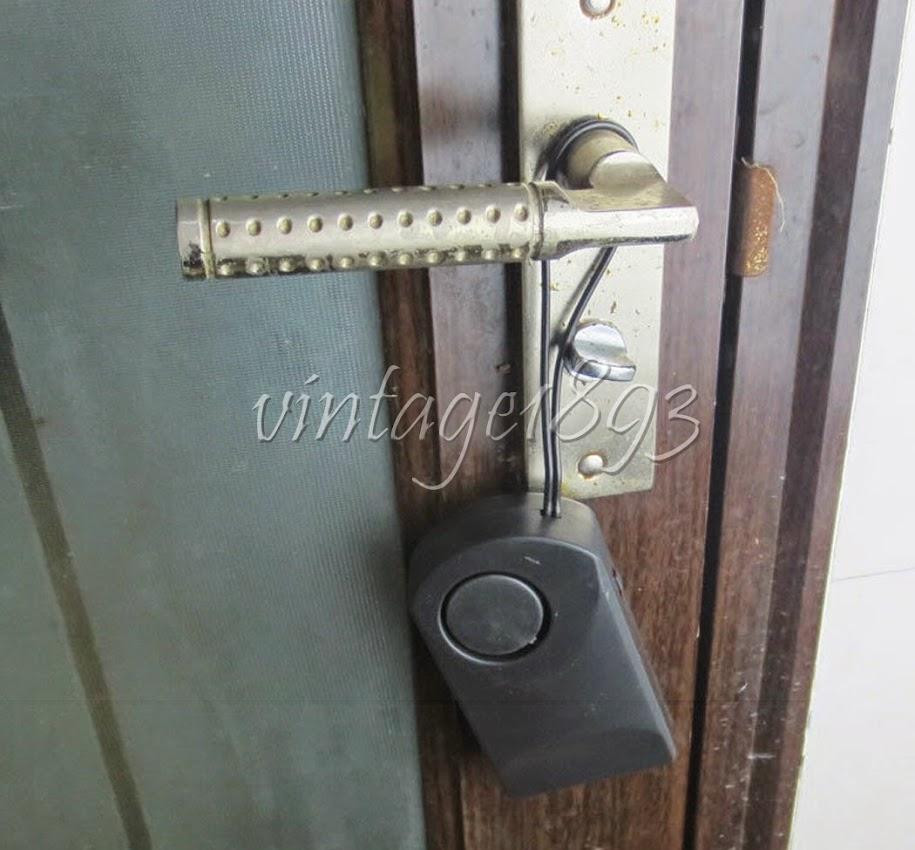d tecteur sir ne alarme de porte fen tre avertissement tactile anti vol maison. Black Bedroom Furniture Sets. Home Design Ideas