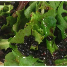 Blackberry Balsamic Salad Dressing