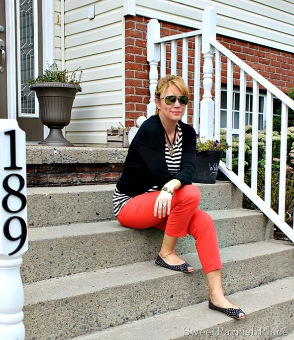 coral-jeans-black-striped-shirt-black-cardigan2
