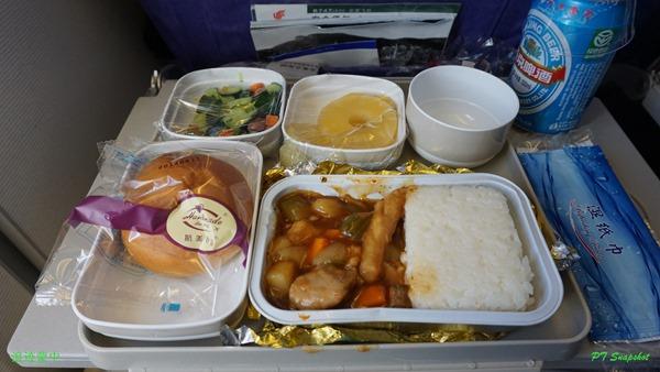 中国航空的航空餐