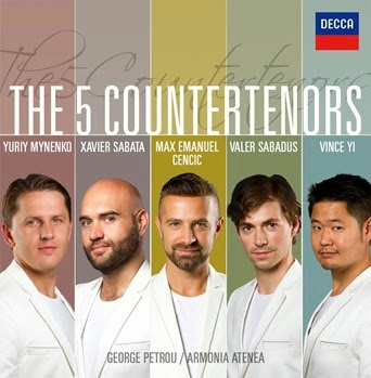 CD REVIEW: THE 5 COUNTERTENORS (DECCA 478 8094)