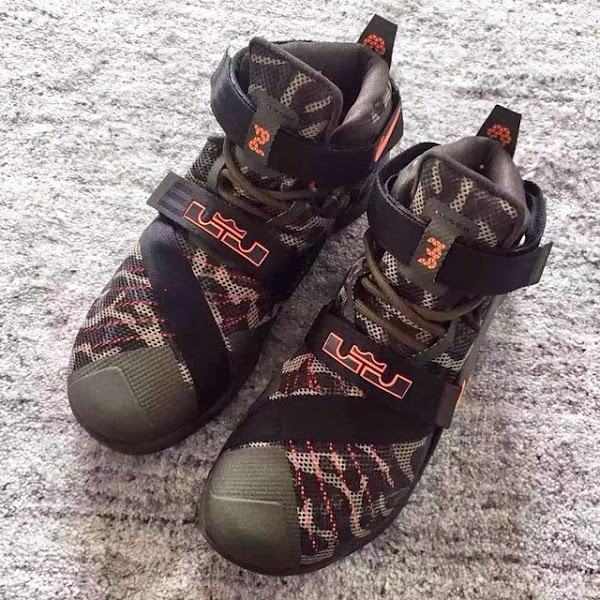 Nike Goes Back to the Roots with Camo Zoom LeBron Soldier 9