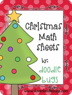 christmasmathsheets