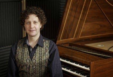 IN PERFORMANCE: Harpsichordist JORY VINIKOUR (Photo by Hermman Rosso, © by Jory Vinikour)
