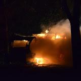 Camper op parkeerplaats Oude Pekela uitgebrand