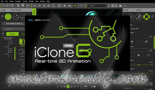 iClone 6 Pro