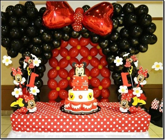 fiesta cumpleaños minnie decoracion (28)