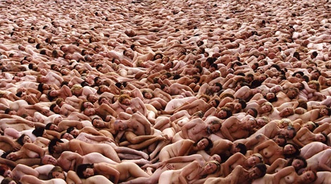 Tunick art
