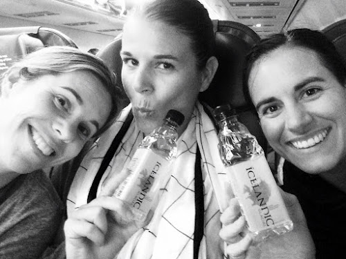 Icelandic water on IcelandAIR