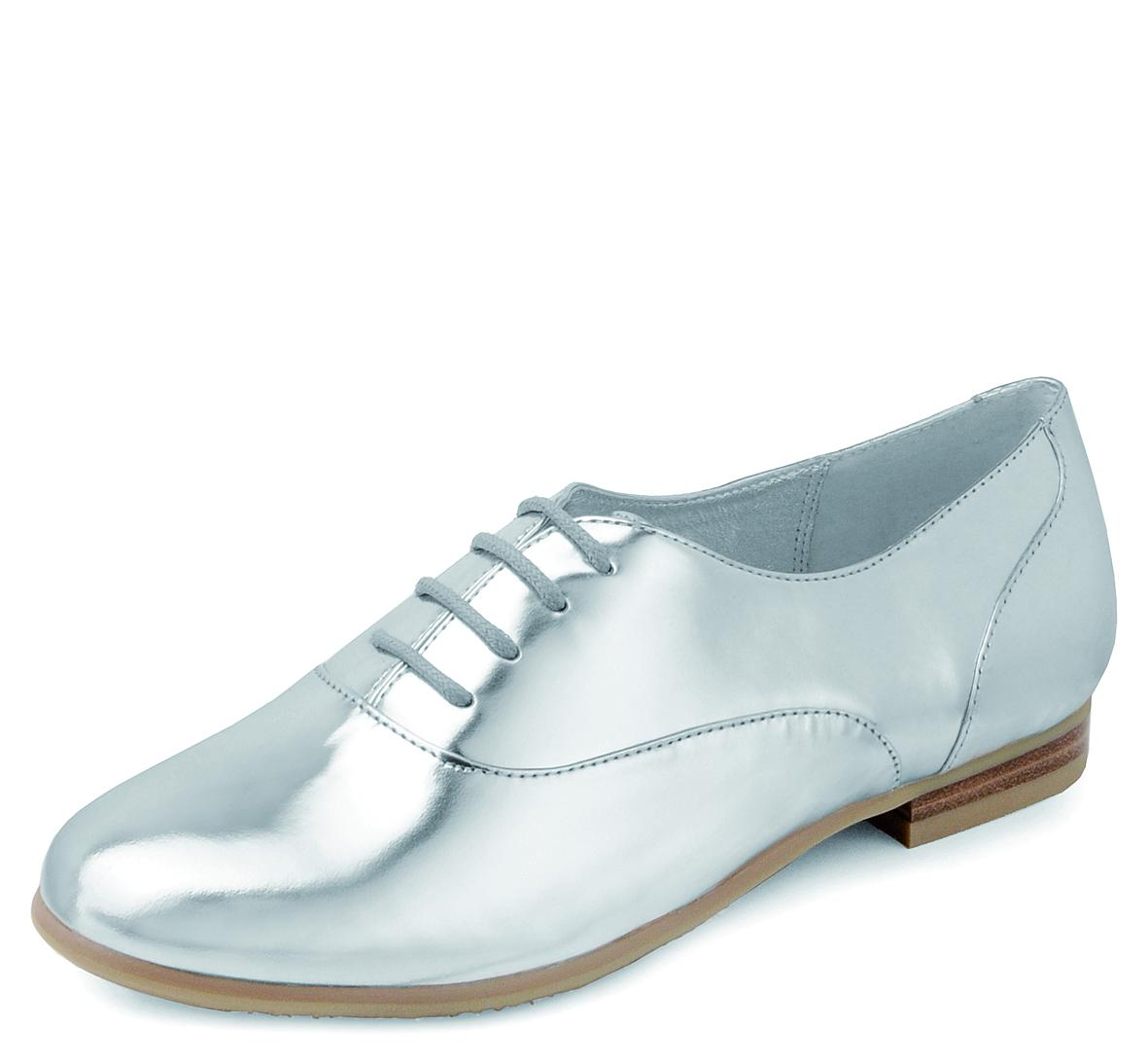 Lace Up in Silver -    75
