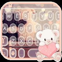 Cute Bear Keyboard Theme pour PC (Windows / Mac)