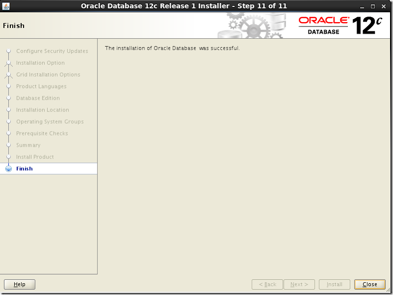 Oracle Database Software Installation 14