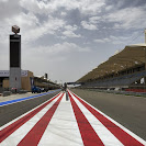Main straight and pitlane Bahrain