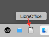 Figure 7 LIbreOffice as a Favorite