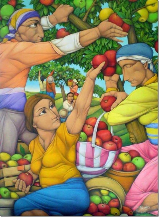 Entre manzanas-Pablo-Solari-ENKAUSTIKOS