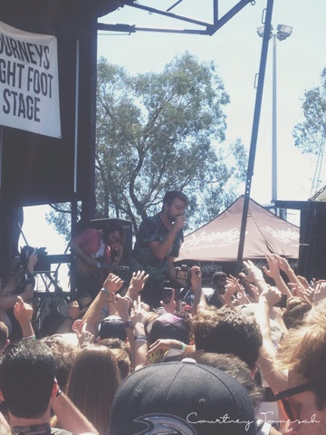 Vans Warped Tour 2015 Hands Like Houses