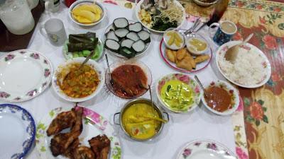 Juadah Hari Terakhir Ramadhan