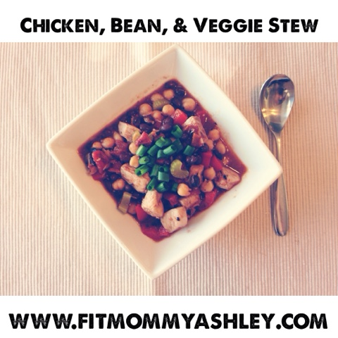 vegetable, stew, soup, chicken, bean, chickpeas, garbanzo beans, celery, healthy, clean eating, nutritious, delicious, snow day, 21 day fix, hammer and chisel, recipes