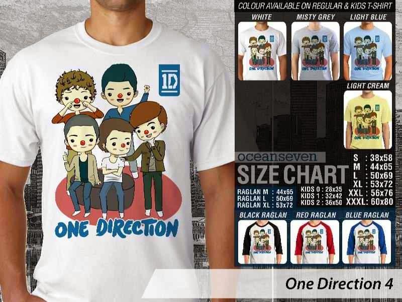 Jual kaos 1D One Direction 16 Musik Boy Band