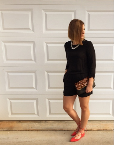 chic style, how to wear a romper, mom style, ever pretty